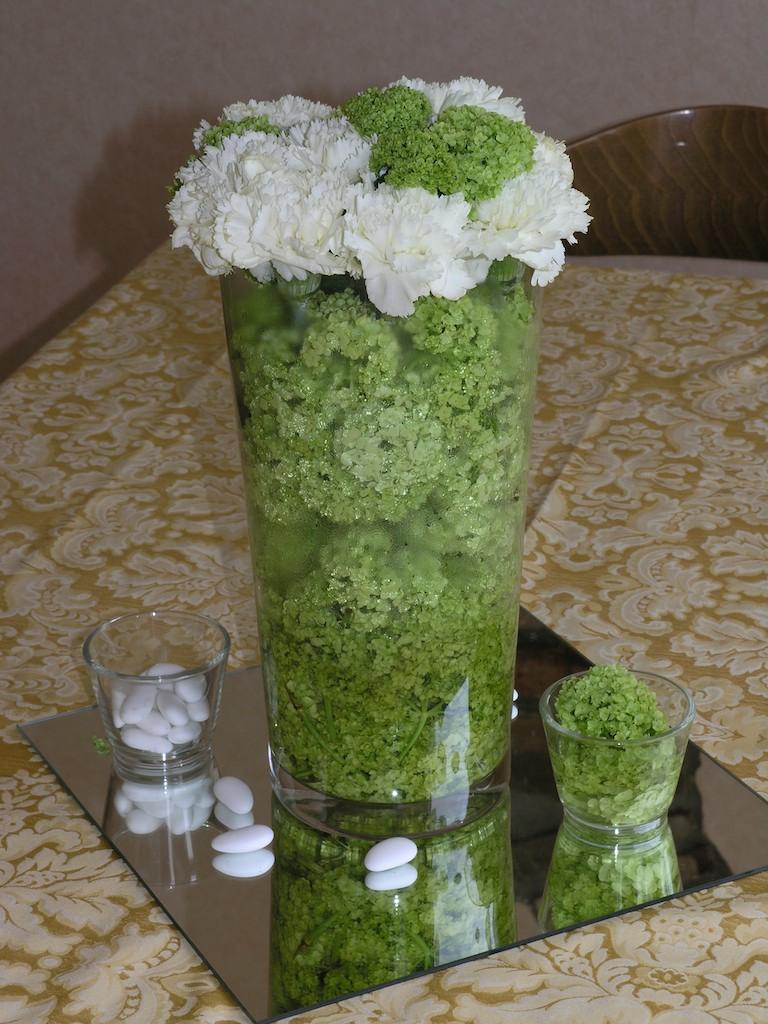 Grande composizioni tavoli matrimonio ee27 pineglen - Composizioni floreali per tavoli ...